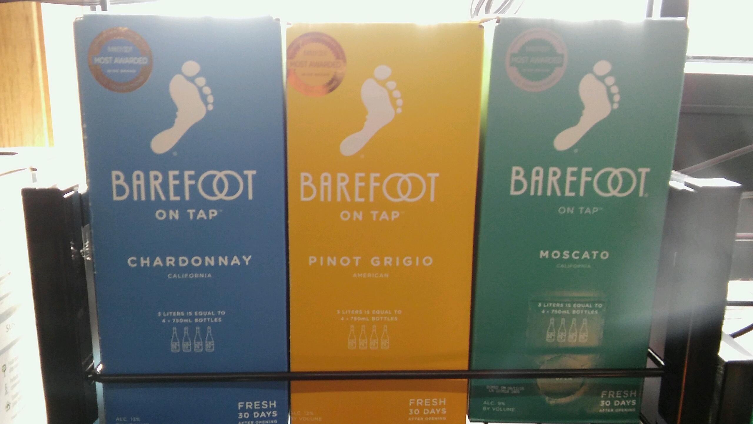 Barefoot  3 Ltr Box