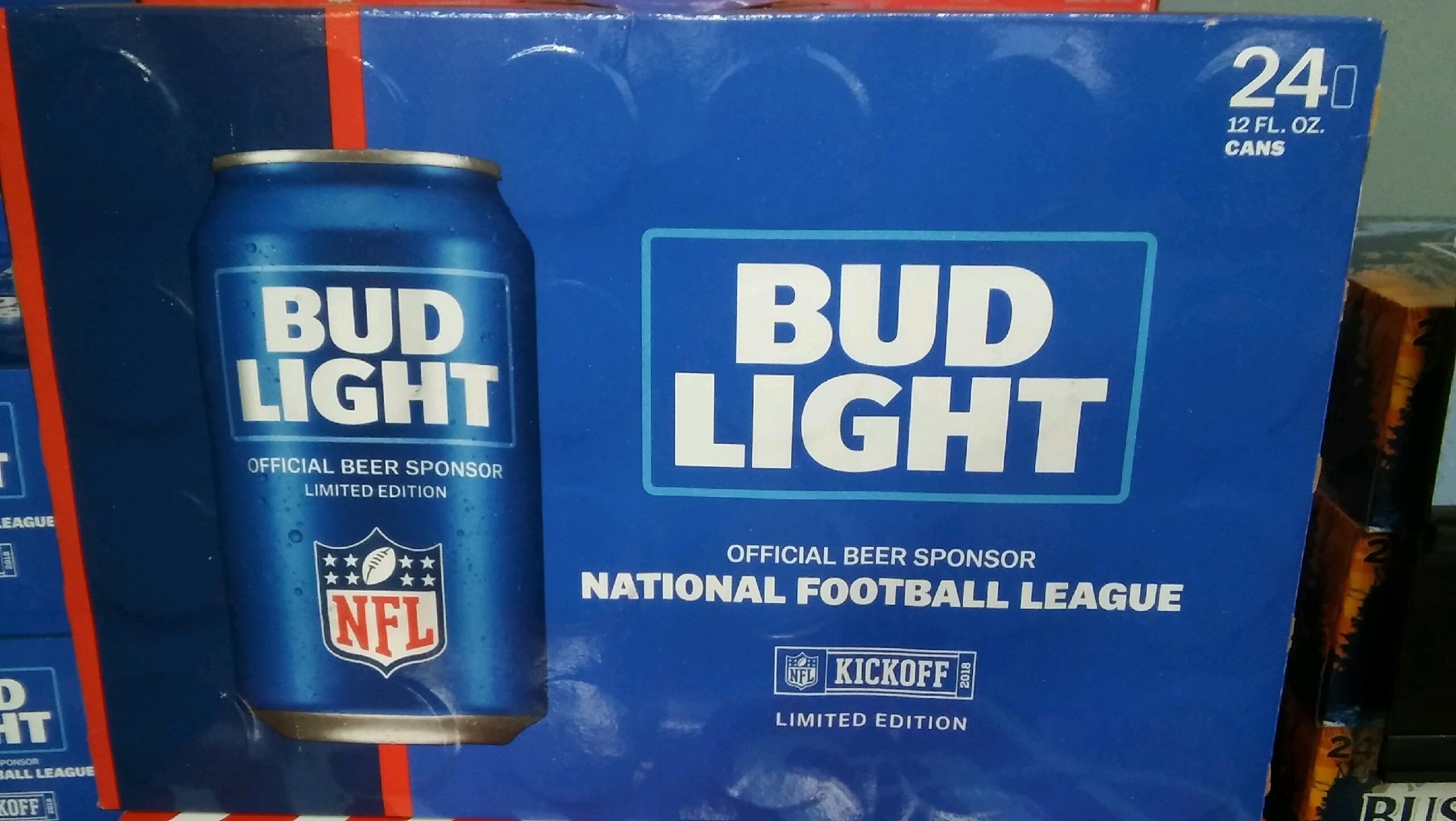 Bud Light 24 pk