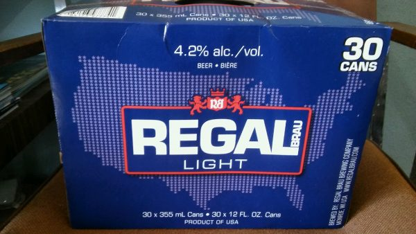 Regal 30 Pack-Reg/Light/Ice
