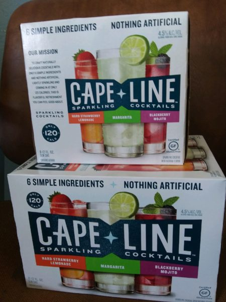 Cape Line-6 Pk-3 flavors in pack
