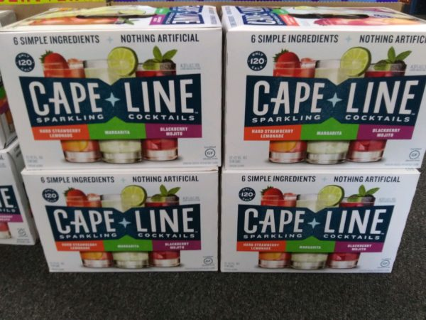 Cape Line-12 Pk-3 flavors in pack