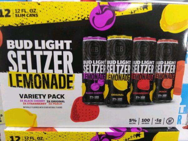Bud Light – Lemonade Seltzer Variety 12 Pack