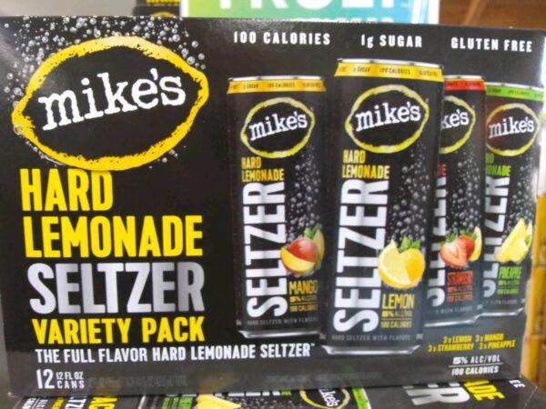 Mike's Hard Lemonade Seltzer – Variety 12 Pack