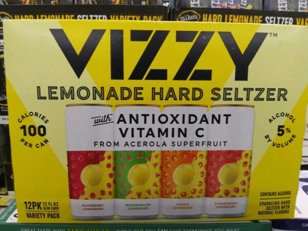 Vizzy – Lemonade Hard Seltzer